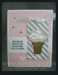 www.stamping.cards Sprinkles of Life Stamp Set and Punch #Stampin' Up!