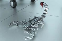 mybestvid: Amazing 3d Robots design