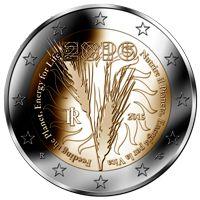 expo 2015 - 2 euro coin by frizio design http://www.friziodesign.it