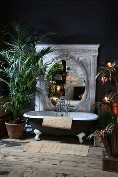 50 Trending 2018 Jungle Bathroom Design - Home Design Jungle Bathroom, Boho Bathroom, Bathroom Ideas, Bathroom Organization, Minimal Bathroom, Bath Ideas, Bathroom Lighting, Restroom Ideas, Bathroom Grey