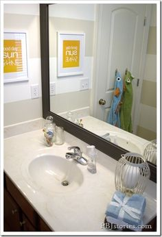PBJstories: A Modern Bathroom Makeover for Kids