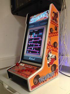 John Roger´s #VCabinet #bartop Arcade Cabinet Plans, Arcade Bartop, Zelda Video Games, Arcade Stick, Arcade Machine, Vintage Diy, Diy Cabinets, Travel Design, Boombox