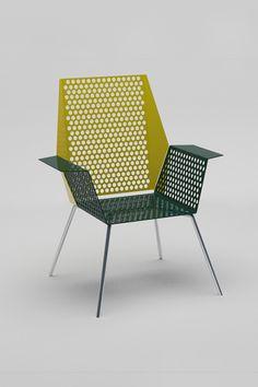 metal chair design by lisa krausz
