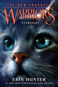 New cover for Warriors the new prophecy: starlight. Book four