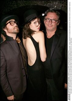 Thierry Gillier, Charlotte Kemp Muhl and Sean Lennon