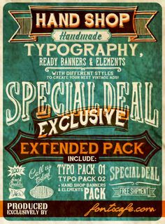 30 Free Vintage and Retro Fonts. #fonts #retro