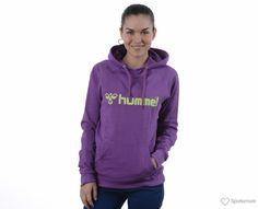 Hummel - Classic Bee W Hoodie - Streetwear - Lilla - Dame | www.sportamore.no online | Sportamore.no – Mote på nett