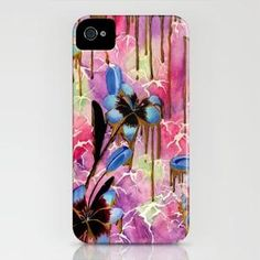 Breaking Down Time iPhone Case by Kristen Willsher | Society6