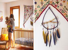 white walls + natural wood (Mirjana and Levi Blankenship | see more at And North)