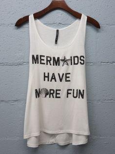 Mermaids Have More Fun by HeavenstoBetsyLLC on Etsy