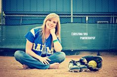 Senior softball photos
