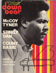Downbeat Magazine covers – Voices of East Anglia Jazz Music, Good Music, Friday Jr, Cool Jazz, Vinyl Record Storage, Doctor Johns, All That Jazz, Music Magazines, Old Signs