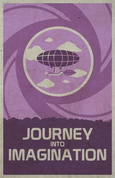 retro disney posters - These retro Disney posters celebrate the original EPCOT Center at Disney World in Florida. The series uses vector artwork to illustrate the themes ...