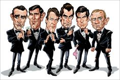 Tom's MAD Blog - Caricature artist Tom Richmond from Mad Magazine fame.