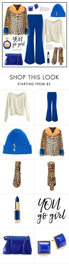 """""""You Go Girl!"""" by diane1234 ❤ liked on Polyvore featuring Paper London, TIBI, Simonetta Ravizza, Steve Madden, L'Oréal Paris, 3.1 Phillip Lim, Trina Turk and Boadicea the Victorious"""