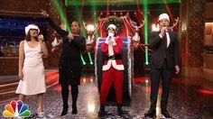 Jimmy Fallon & Rashida Jones Sing Holiday Parodies of Taylor Swift, Riha...