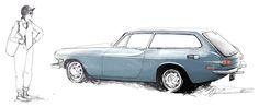 Illustrations by car designer Kimberly Wu.