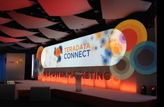 Teradata Connect Conference Interview – BrandHook Stage Set, Stage Design, Booth Design, News Games, Design Reference, Staging, Event Planning, Conference, Backdrops
