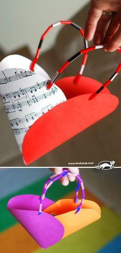 Paper bag – heart   krokotak