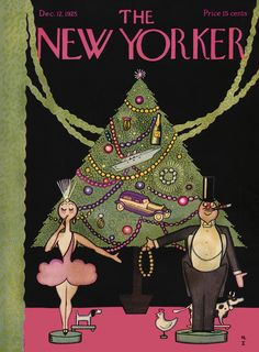 The New Yorker - Saturday, December 12, 1925 - Issue # 43 - Vol. 1 - N° 43 - Cover by : Rea Irvin