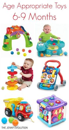 Infant Learning Toys 6-9 months - Age Appropriate Developmental Toys for your Baby :)