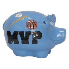 Metrotex Designs Hall of Fame Sports Piggy Bank