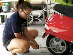 What are some tips for scooter maintenance?