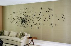 Cool butterflies...  Probably need a massive wall and cool background