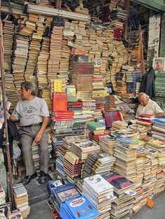 Book store in Mexico