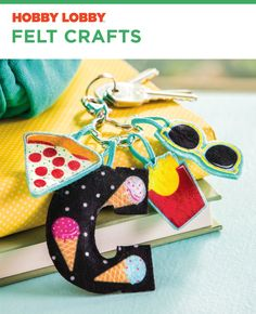 So many fun DIY felt ideas!