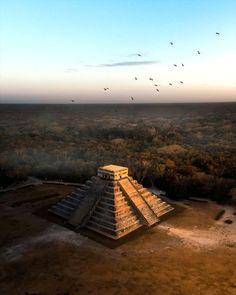 Kukulkan, Chichen Itza Maya, Celestial, Sunset, Outdoor, Architecture, Art, Outdoors, Sunsets, Outdoor Games