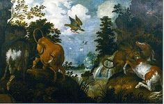 Roelant Savery - Wikipedia 15th Century, Baroque, Utrecht, Landscape Paintings, Dutch, Animals, Animal Paintings, Flamingo, Shop Signs