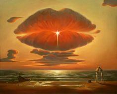 La extraordinaria imaginación del pintor ruso Vladimir Kush (FOTOS)