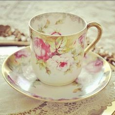 Tea Cup and Saucer~