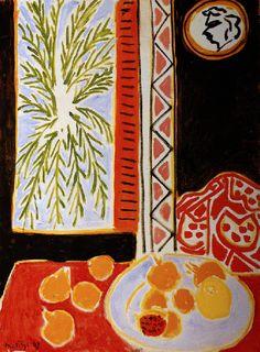 Matisse - 1947 – NATURE MORTE AUX GRENADES                                                                                                                                                      Plus