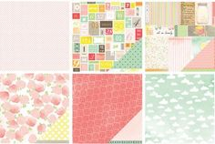 American Crafts / Dear Lizzy - Neopolitan - CHA Winter 2012