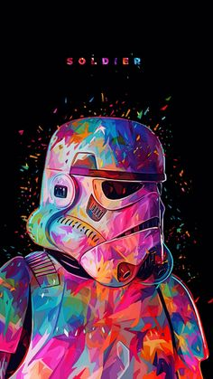 Stormtrooper illustration - Star Wars Stormtroopers - Ideas of Star Wars Stormtroopers - Stormtrooper illustration Star Wars Fan Art, Graffiti Wallpaper, Marvel Wallpaper, Galaxy Wallpaper, Star Wars Wallpaper Iphone, Black Wallpaper, Wallpaper Desktop, Star Wars Painting, Dope Wallpapers