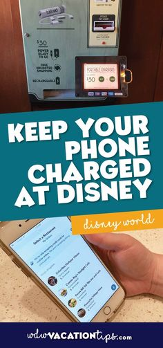 BEST TIPS I HAVE SEEN! We are all attached to our phones these days and that means keeping your phone charged all day long in a theme park can be a challenge. Phones are often our means for taking pictures and keeping in touch with family members if they separate from the group to enjoy something different at Disney for a bit.