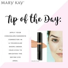 Mary Kay Concealer, Corrector Concealer, Under Eye Concealer, Makeup Qoutes, Mary Kay Facial, Mary Kay Party, Mary Kay Cosmetics, Mary Kay Makeup, Facebook Mk