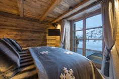 Chalet Uberhaus Lech view from family suite