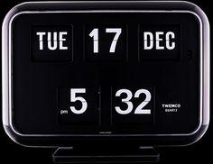 The official FLIP CLOCK website - TWEMCO flip clocks (Singapore) Flip Clock, Flipping, Clocks, Singapore, Office Supplies, Website, Bedroom, Watches