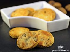 Receta Entrante : Pastas de queso y nueces por Lasrecetasdemasero