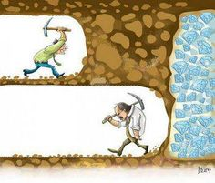 #quote: Never give up! You're almost there.