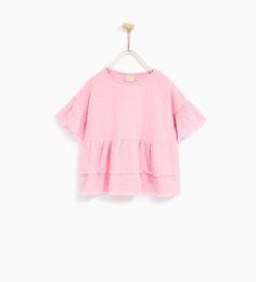 TShirts Girls   New Collection   ZARA United States