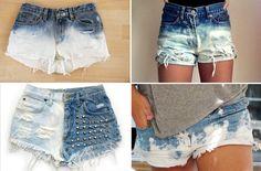 Capricha no Look: Inspire-se: Shorts customizados