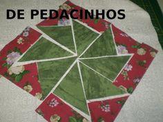 Caleidoscópio -PAPS De Pedacinhos Patchwork:
