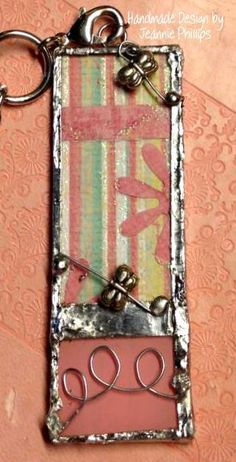 My first soldered pendant..there is a learning curve, but I am catching on!