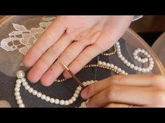 bordado de missangas e predarias        Agulhas para bordado (Alta Costura) - Embroidery Needles - YouTube