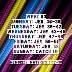 Bible Reading Schedule, How To Get, How To Plan