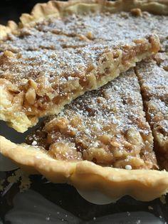 Caramel-walnut-pie Karamell-Walnuss-Tarte  Suessblog